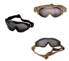 SWAT SWATTEC Black Coyote Brown Tan Tactical Anti Fog Scratch Military Goggles
