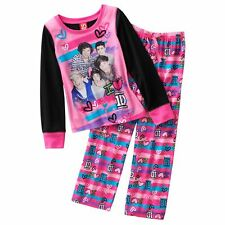 """One Direction """"1D's #1 Girl"""" Pajama Set for Girls Pink Size 4/6 New"""
