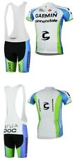 POC Cycling Clothing Jersey & Bib Pants Kit Sets Coolmax Padding A137