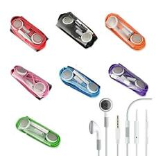 Earphone Headset With Remote Mic for iPhone 5 4S 4G 3G 3GS iPod Touch Nano Video
