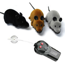 3 Color Remote Control RC Electronic Wireless Rat Mouse Mice Toy For Cat Dog Toy