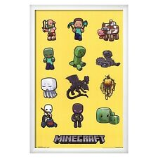 Art.com Minecraft Characters Poster