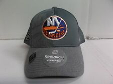 New York Islanders Reebok Cap Authentic Center Ice Stretch Flex Fit Fitted Hat