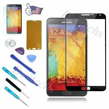 for Samsung Galaxy Note 3 N9000 Replacement Front Lens Screen Glass Black