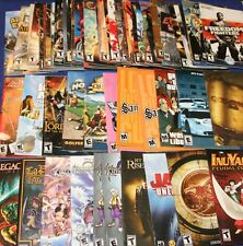 Sony PlayStation 2 Game User Manuals - A - L Titles