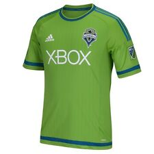 Seattle Sounders Adidas MLS Performance Authentic Game Jersey - Green