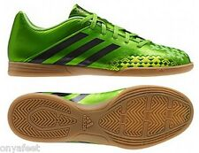 MENS ADIDAS PREDITO LZ FOOTBALL INDOOR TRAINERS SOCCER FUTSAL SHOES BOOTS GREEN