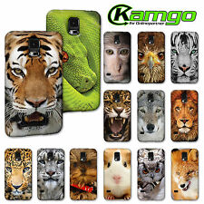"KAMGO - Design ""TIERE"" Handy Hülle für Samsung - Hard Case, Cover Back ANIMALS"