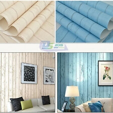 Pro-environment Mediterranean Sea Non-woven Strip Wallpaper Roll TV Bedding Room
