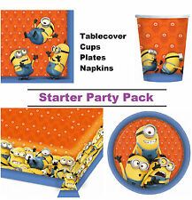 Despicable Me Minions 8-48 Guest Starter Party Pack - Cup | Plate | Napkin