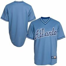 NWT Atlanta Braves Majestic Big & Tall Cooperstown Mens Replica Jersey