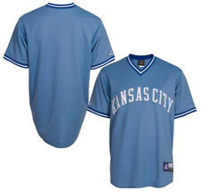 NWT Kansas City Royals Majestic Big & Tall Cooperstown Mens Replica Jersey