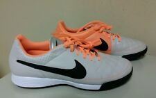 NIKE TIEMPO GENIO LEATHER TF Turf Soccer Shoes 631284-008