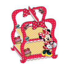 MINNIE MOUSE CAFE PARTY CUPCAKE STAND, MINNIE MOUSE  PARTY THEMES  ITEMS
