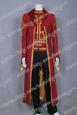 Legend of the Seeker Cosplay Costume Darken Rahl High Quality Red Luxury Suit