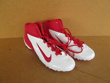 Nike Alpha Speed TD Football Cleats New old stock NO box White/RED