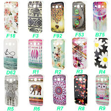For Samsung Galaxy Many Model Cute Soft TPU Gel Skin Protective Back Case Cover