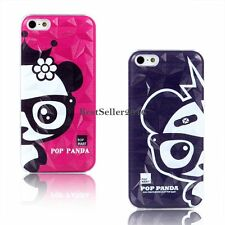 Cute Panda Protective Hard Case Back Cover Skin Shell for Apple iPhone 5 5S