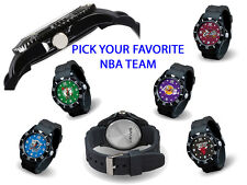 PICK TEAM – NBA Basketball Team Sparo Spirit Dive-Style Water Resistant Watch