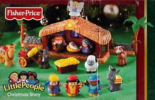 Replacement Little People for The Christmas Story Nativity Scene Set 2002 Pieces