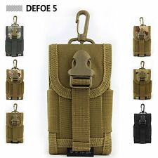 MOLLE PALS cell mobile phone coyote small mini buckle utility pouch purse bag