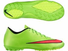 NIKE MERCURIAL VICTORY V TF INDOOR SOCCER TURF FUTSAL CR7 SHOE Electric Green