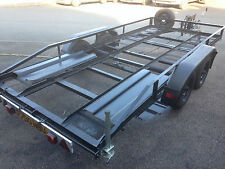 Twin Axle Car Van Transport Trailer Recovery Braked