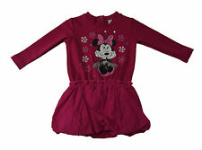 Neu! Disney Rosa Minnie Mouse süsses Kleid Baumwolle Gr. 74/80/86/92/98