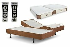 "NEW 2015 Adjustable Bed SCAPE Performance Leggett Platt Dynasty 12"" GEL Mattress"