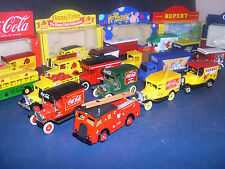 LLEDO VANS   DIE CAST TRUCKS, COCA COLA -- click on the site to chose and order