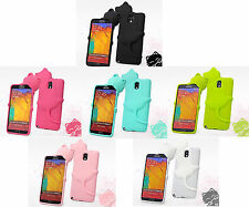3D Smile Hide & Seek Cat Soft Silicone Rubber Case For Samsung Galaxy S5 I9600