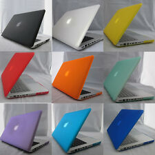 "Rubberized Matte Hard Case Cover For Macbook AIR 11"" 13"" PRO 13"" 15"" + Retina"