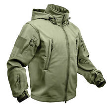 Rothco SPECIAL OPS TACTICAL US MILITARY ARMY OLIVE DRAB SOFTSHELL JACKET COAT
