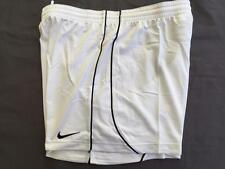 Nike Women's Academy Mesh Dri Fit Soccer Workout Shorts White Sz S M Relaxed Fit
