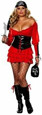 Adult Plus Size Sexy Pirate Wench Costume Cosplay Halloween Costume Fancy Dress