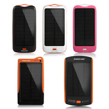 Poweradd Solar Panel Charger Power Bank For iPhone 6 5S Samsung GPS PDA Laptops