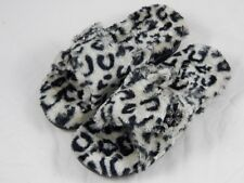Vionic by Orthaheel Relax Luxe Grey Leopard Slippers PREOWNED