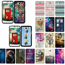 For LG Optimus L70 / Ultimate 2 L41C Design Slim Fit Hard Phone Case Cover