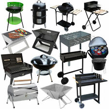 Standing BBQ Charcoal Grill Barbecue Kebab Grill Smoker New