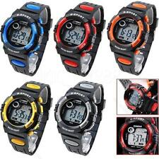 Kids Child Boy Girl Multifunction Waterproof Sports Electronic Watch #S Watches