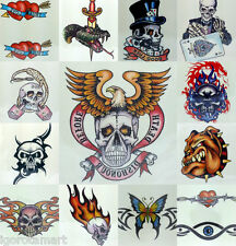 Body Art Quality Decal Colored Waterproof Tattoo Sticker  Latex Tattoos