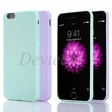 TPU Silicon Rubber Soft Gel Bumper Case Cover For iPhone 6 4.7'' Plus 5.5''