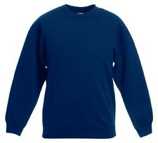 Fruit Of The Loom Kids Girls Boys Classic 80/20 Set-in Sweatshirt FOTL