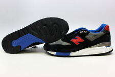 New Balance Classics Black/Black-Red-Blue M998CBL Men's ALL SIZES