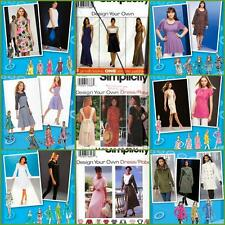 Simplicity Sewing Pattern Design Your Own Project Runway Plus Size You Pick