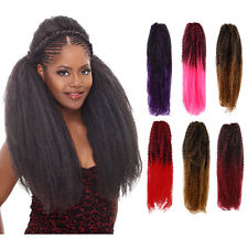 Femi Collection Marley Braid Kanekalon Kinky Twist Synthetic Hair - Ombre Color