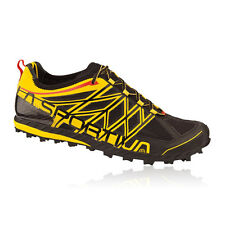 La Sportiva Mens Womens Anakonda Black Yellow Trail Running Trainer Sneaker Shoe
