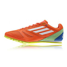 Adidas Techstar Allround 3 Mens Womens Orange Running Spikes Trainers Shoes