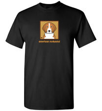 American Foxhound Cartoon T-Shirt - Men, Women, Youth, Tank, Short, Long Sleeve