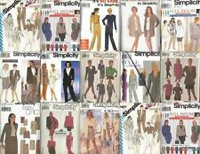 Simplicity Sewing Pattern Misses Skirt and Pant Suit Plus Size You Pick
